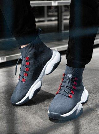 Pánské sneakers boty T355 - šedá
