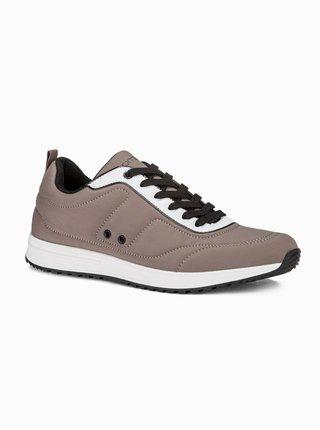 Pánske sneakers topánky T360 - béžová