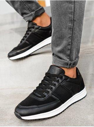 Pánské sneakers boty T361 - černá
