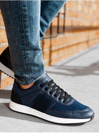 Pánske sneakers topánky T361 - námornícka