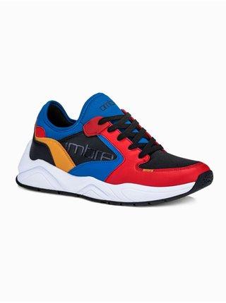 Pánské sneakers boty T363 - červená