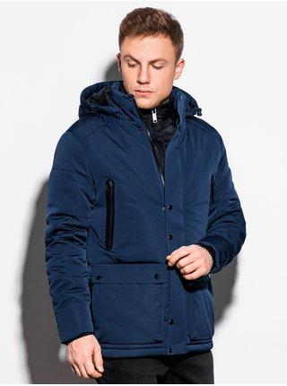 Pánská zimní bunda C449 - námořnická