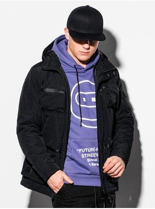 Pánská zimní bunda C450 - černá