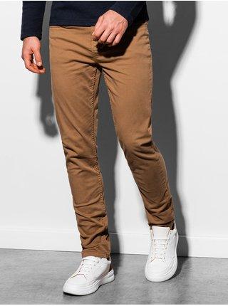 Pánské kalhoty P895 - světle hnědé