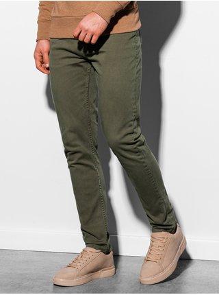Pánské kalhoty P895 - khaki
