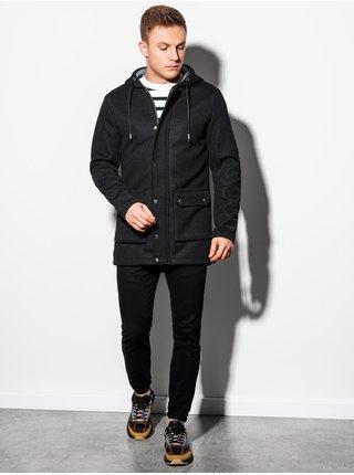 Jarní kabát C454 - černá