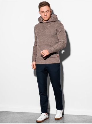 Pánský svetr E181 - hnědá