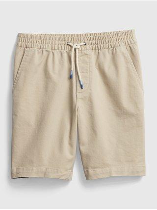 Detské kraťasy easy pull-on shorts Béžová
