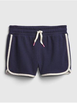 Modré holčičí dětské kraťasy pull-on shorts