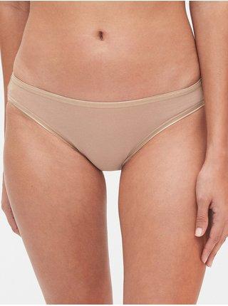 Nohavičky stretch cotton bikini, 3ks Farebná