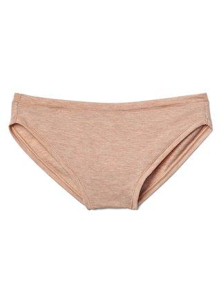Béžové dámské kalhotky breathe bikini