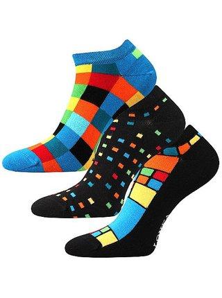3PACK veselé ponožky Lonka vícebarevné
