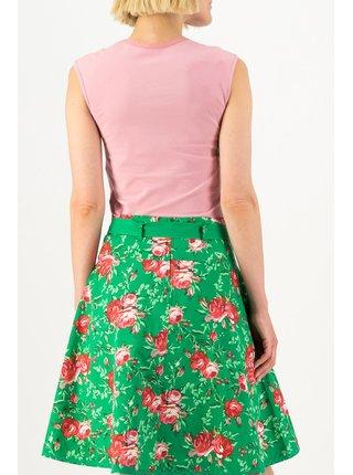 Blutsgeschwister zelené sukňa Bonjour Jardin Springtime Soul