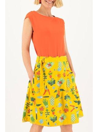 Blutsgeschwister žlutá sukně Bonjour Jardin Let Love Grow