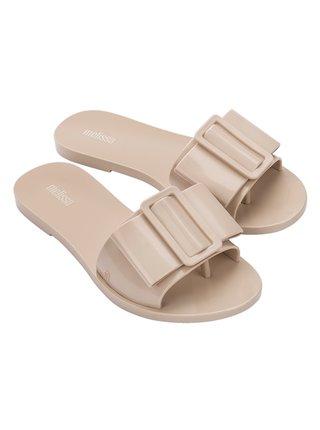 Melissa béžové pantofle Babe Beige