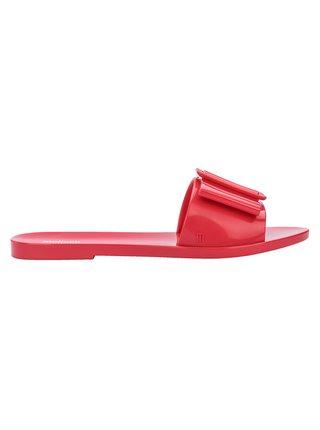 Melissa červené pantofle Babe Red