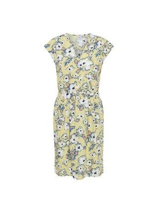 Ichi žluté květované letní šaty Ihbruce