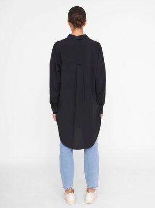Čierna dlhá košeľa Noisy May Fiona