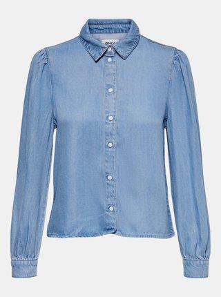 Modrá rifľová košeľa ONLY Billie