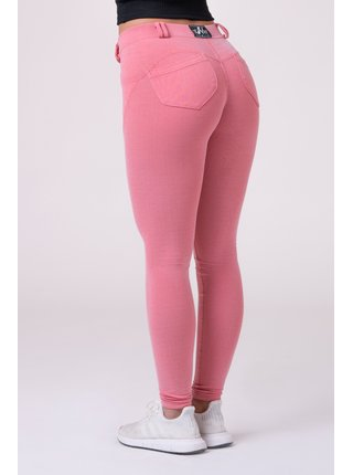 Růžové dámské Dreamy Edition Bubble Butt legíny 537