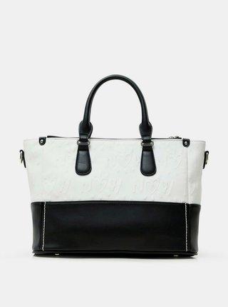 Desigual černo-bílá kabelka Bols Katya Safi