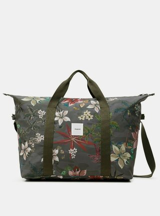 Desigual športová taška Duffle bag Nylon Camoflower
