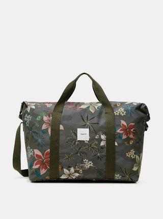 Desigual sportovní taška Duffle bag Nylon Camoflower