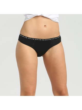 Menstruační kalhotky DIM MENSTRUAL SLIP - Menstruační kalhotky - černá