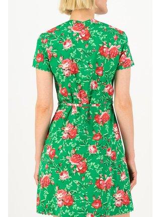 Blutsgeschwister zelené šaty Fairy In The Garden Springtime Soul