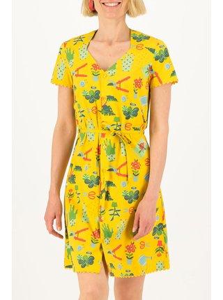 Blutsgeschwister žluté šaty Fairy in The Garden Let Love Grow