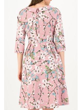 Blutsgeschwister růžové šaty Gärtchen Eden Blossom Blush
