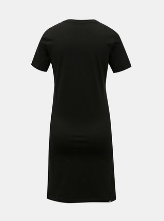 Černé šaty s potiskem Puma Ess