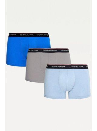 Sada třech boxerek v modré barvě Tommy Hilfiger