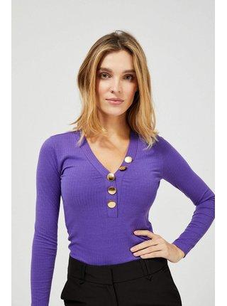 Fialové tričko Moodo