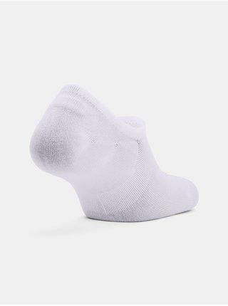 Ponožky Under Armour Core Ultra Low 3PK - bílá