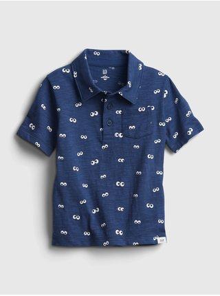 Detské polo tričko jersey polo Modrá