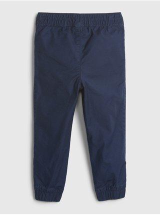 Modré klučičí dětské kalhoty pull-on everyday joggers