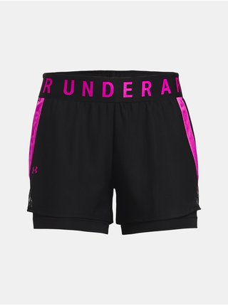 Kraťasy Under Armour Play Up 2-in-1 Shorts - černá