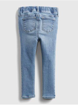 Modré holčičí dětské džíny jegging