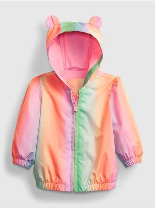 Barevná holčičí baby bunda rnbw jkt