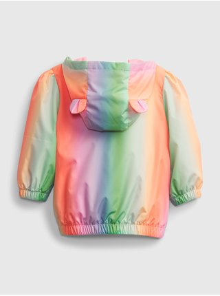Baby bunda recycled rainbow jacket Farebná