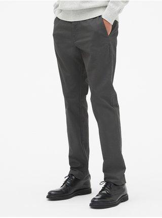Nohavice modern khakis in slim fit with GapFlex Čierna