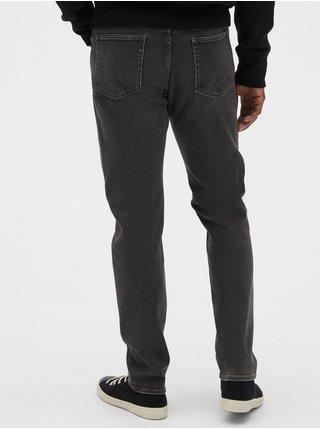 Šedé pánské džíny soft wear slim jeans with GapFlex