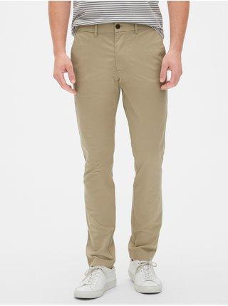 Nohavice modern khakis in skinny fit with GapFlex Béžová