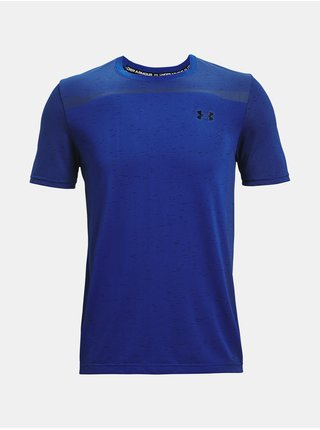Tričko Under Armour Seamless SS - modrá