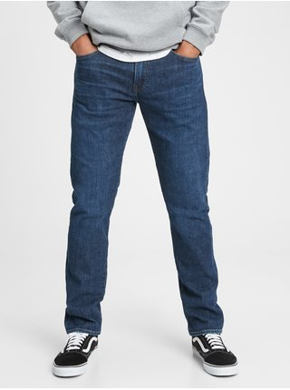 Modré pánské džíny slim lightweig