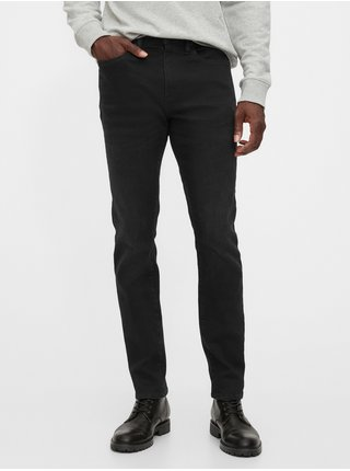 Černé pánské džíny v-skinny soft high stretch black