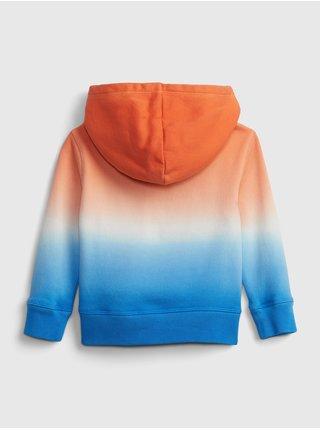 Detská mikina GAP Logo dip-dye hoodie Farebná