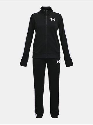 Souprava Under Armour EM Knit Track Suit - černá
