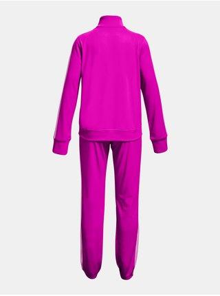 Souprava Under Armour EM Knit Track Suit - růžová